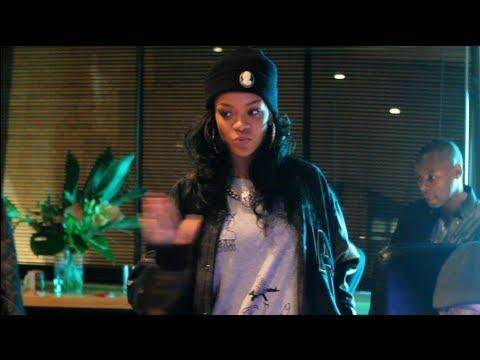 Rihanna Working in the Studio (Rare Footage)