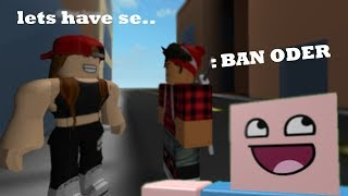 TROLLING ODER AND BULLY WITH ADMIN COMMANDS IN ROBLOX (no really)