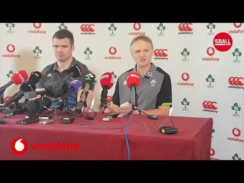 Joe Schmidt and Peter O'Mahony look ahead to England clash