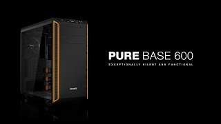 be quiet! | Pure Base 600 Window | Deutsch