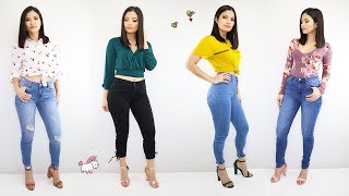 Download lagu 5 Outfits Casuales Con Jeans 👖 Ideas Para Combinar Pantalones 🦄 Bessy Dressy
