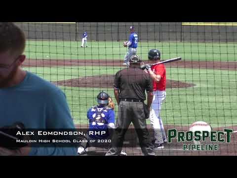 Alex Edmondson Prospect Video, RHP, Mauldin High School Class of 2020