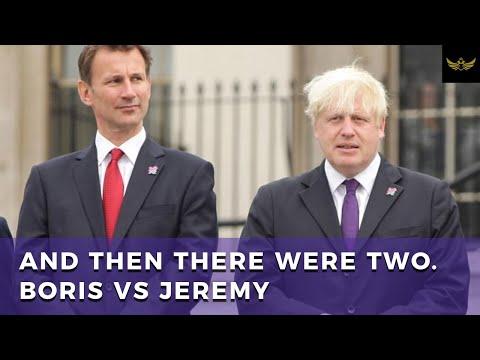 The fight for UK sovereignty. Brexit Boris vs. Remain Jeremy