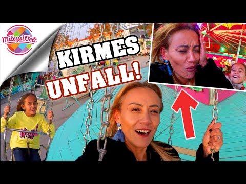 KIRMES SPAß Kindernachmittag endet mit AUTOSCOOTER UNFALL -  Mileys Welt