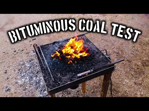 Bituminous Coal for Blacksmithing Alternative Fuel Series