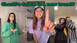 Charli's dance is a new trend?~tik tok