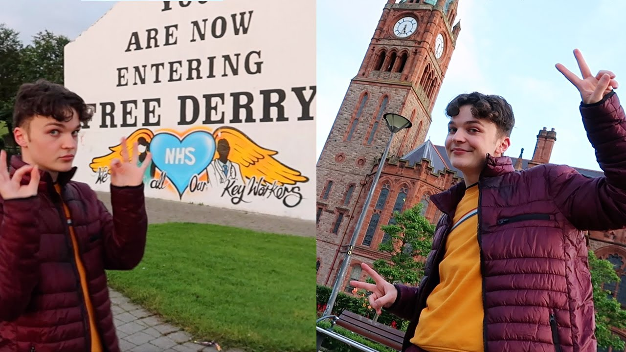 Download TOUR OF MY CITY: DERRY!