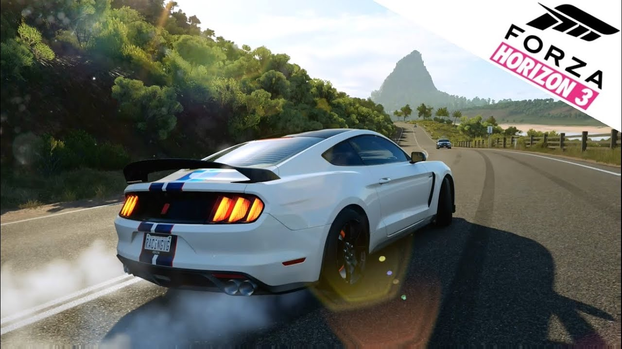forza horizon 3 gameplay ford shelby gt350r mustang free roam exploring off road youtube. Black Bedroom Furniture Sets. Home Design Ideas