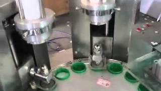 Cap Lining/Wadding machine liner cutting and inserting machine