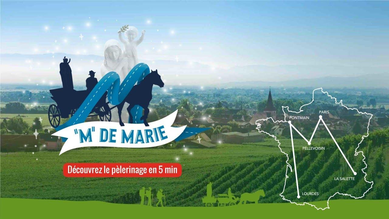 M de Marie » : la ferveur d'un pèlerinage sur les 5 lieux d'apparition de  la Vierge – Radio Notre Dame