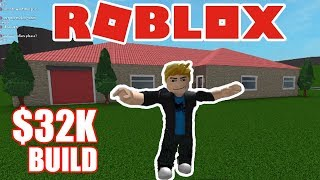 Roblox Bloxburg | My FIRST House Build! Only $32.2K - TOUR Now