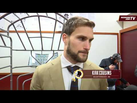 Redskins vs. Vikings Locker Room: Kirk Cousins