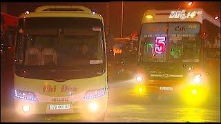 (VTC14)_Hàng trăm xe khách đình công đã di dời khỏi cao tốc