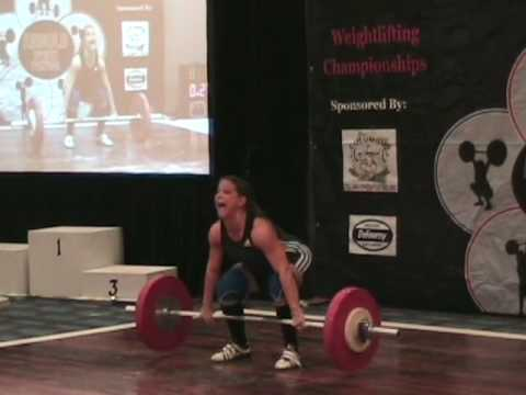 Laura Davie - Arnold Weightlifting Championships 09