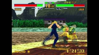 SS Virtua Fighter 2(VR快打2) 初試玩