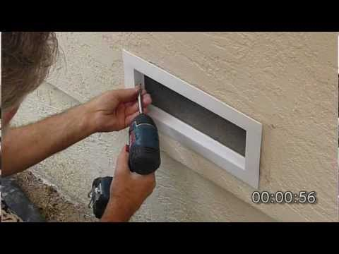 EZRvent FV100 Easy Replacement Vent DIY Installation