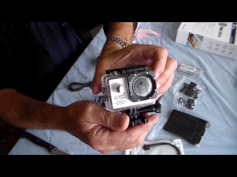 SJ7000 1080P Sport Video Camcorder best review. Unboxing and using. PLUS test clips.
