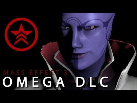 [Mass Effect] Omega DLC - Renegade Shepard playthrough (No Commentary)
