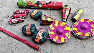 Testing Different types of Diwali Fireworks Testing 2019  Diwali Crackers testing  Crackers Testing 