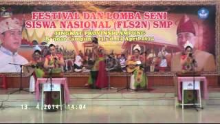 Vokal Group FLS2N Tingkat Provinsi Lampung - SMPN 1 Bandar Lampung
