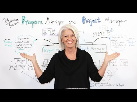 The Difference Between a Program Manager and a Project Manager