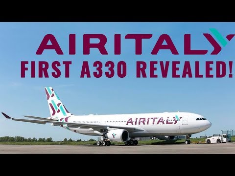 Air Italy's First Airbus A330 REVEALED!