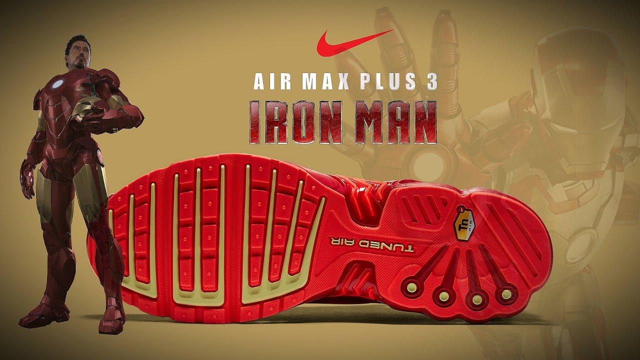 Nike Air Max Plus 3 IRON MAN 2020