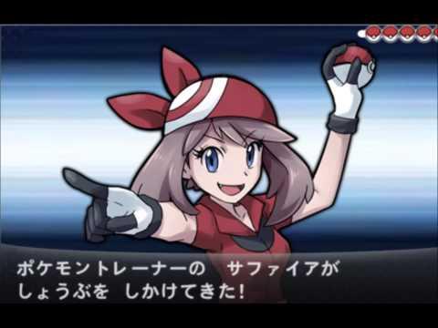 Pokémon XY VS Pkmn Coordinator May Theme Music