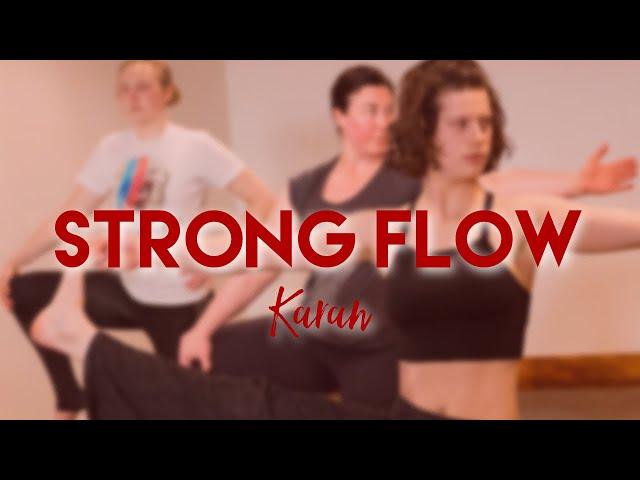 Strong Flow w/ Karan - Live Studio Class - Common Bond Yoga - 12/2/20