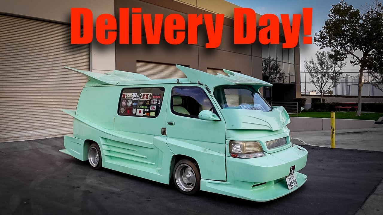 Taking Delivery of an Insane Bosozoku Van!