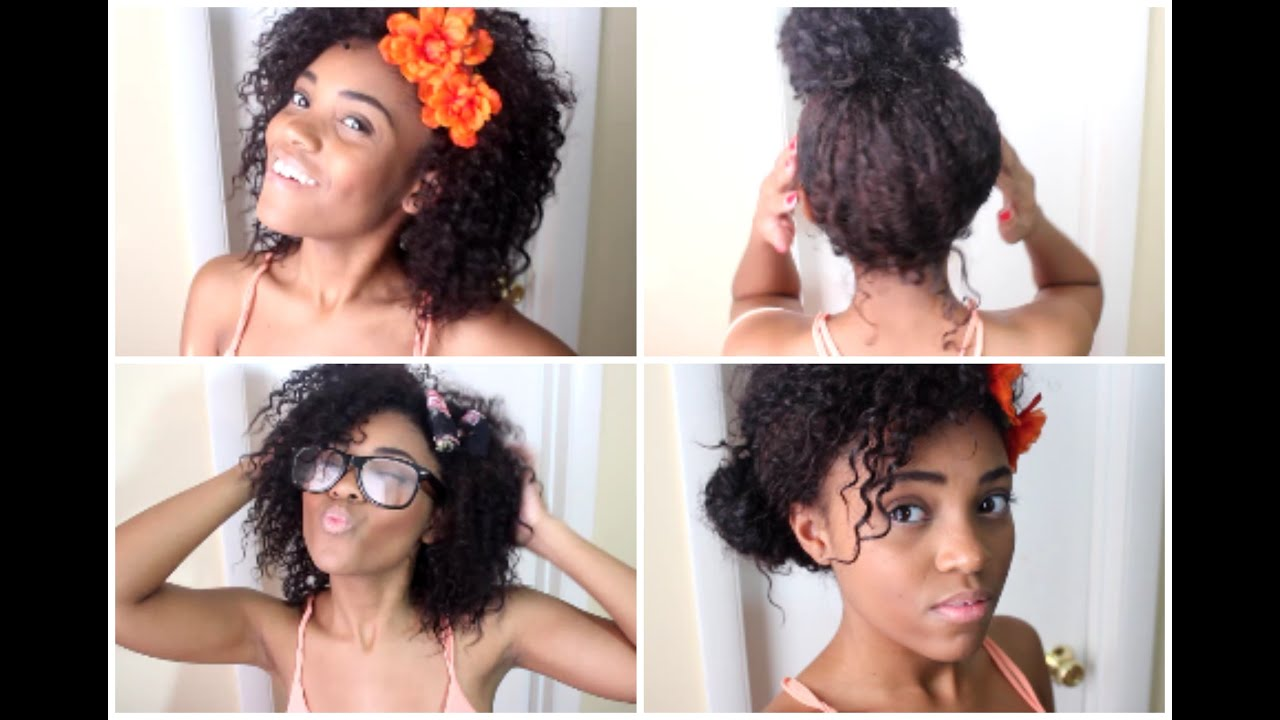 hair| back to school curly hairstyles! ✐ - youtube