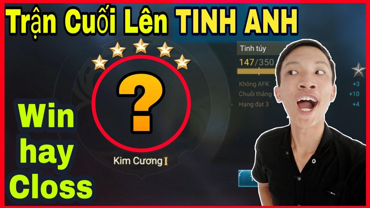 Liên Quân Mobile - Trận Cuối Cùng Lên Rank TINH ANH Cầm Omen Bán Hành Cho Team Bạn!