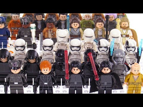 All LEGO Star Wars The Last Jedi minifigs: 2017 summary [SPOILERS!]