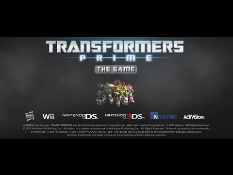 Transformers Prime - Debut Teaser Trailer FINAL (Nintendo Wii, 3DS, and DS)