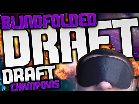 BLINDFOLDED DRAFT! THE CRAZIEST GAME EVER! MADDEN 16 DRAFT CHAMPIONS