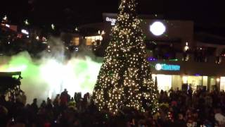 Laser Show and Christmas Tree Lighting at Del Mar Highlands Plaza