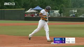 Highlights: TTU Baseball vs Morehead State- OVC Tournament 5/26/18