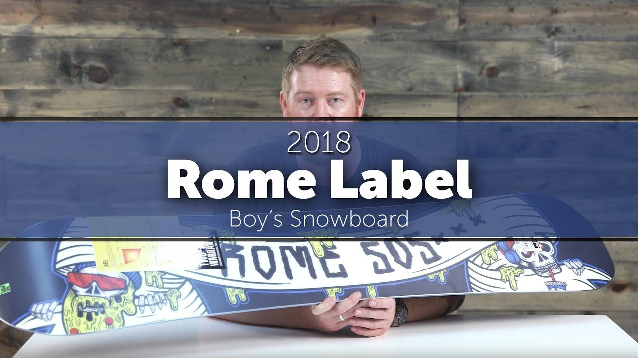 941c3591c 2018 Rome Label Boy s Snowboard - YouTube