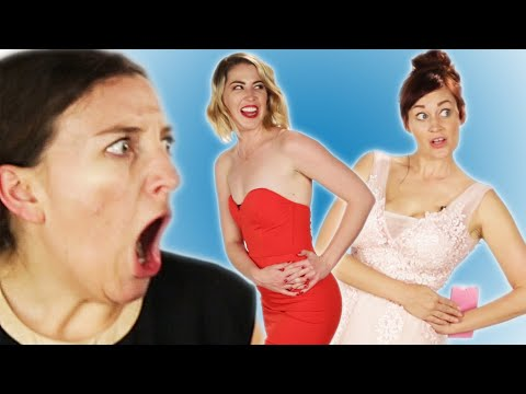 Women Try Prom Dresses From Amazon