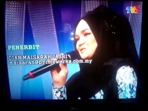 JOGET PAHANG - DATO' SITI NURHALIZA (live Malaysia Hari Ini 2013)