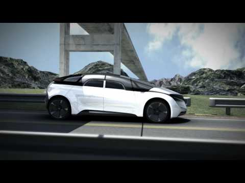 EYE: the concept with Tesla's future in mind