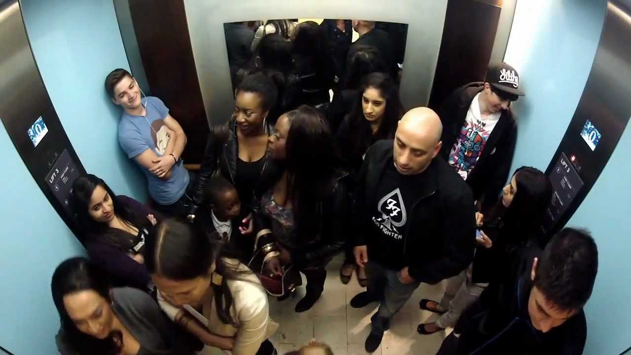 watching people on an elevator Fallon and mccartney pulled the prank on groups of people who thought they were going on a tour of 30 rockefeller plaza studios (home to nbc) as the elevator doors opened, fallon and mccartney.