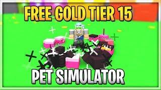 GIVING AWAY PETS (GOLD) | Pet Simulator