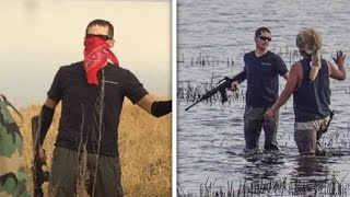 Armed Fake Protester Planted By Oil Company