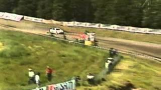 Rallycross Shell Helix Cup Tävling 2 1997 Westombanan