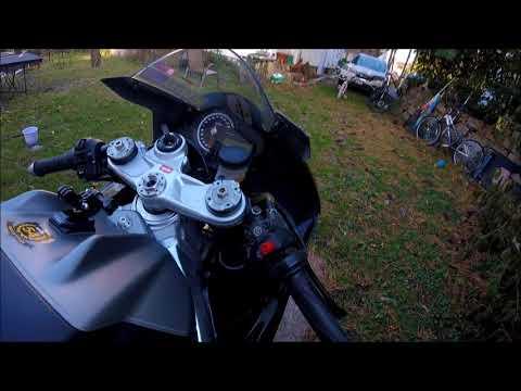 Aprilia RSV4 RR track bike rebuild
