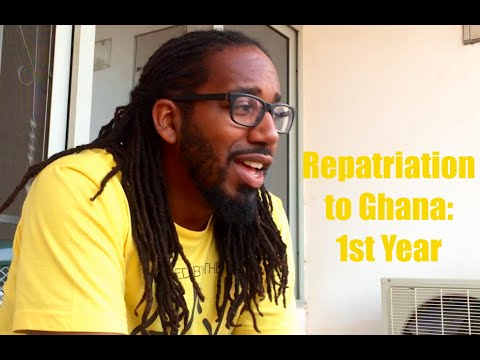 Repatriation to Ghana: 1st Year Which is Braver: Staying or Leaving the US?