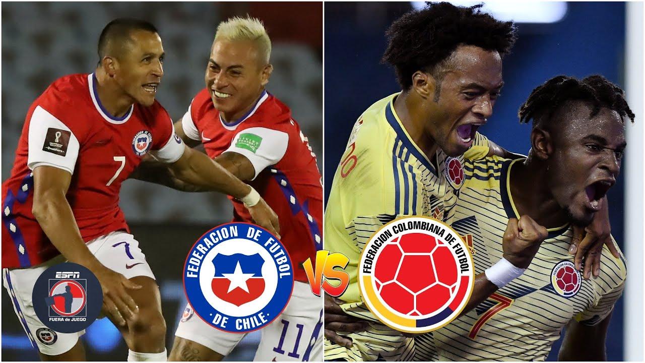 Chile vs. Colombia - Reporte del Partido - 13 octubre, 2020 - ESPN
