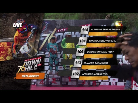 76 Indonesian Downhill 2017 Seri 5 - Bukit Klemuk Batu Jawa Timur - 5 November 2017