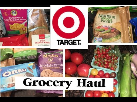 TARGET Grocery Haul : Vegetarian - Vegan - Plant Based